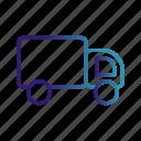 cargo, logistic, van