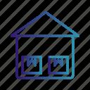 box, crate, storage unit