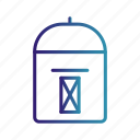 mail, mail box, post box icon