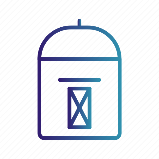mail, mail box, post box icon