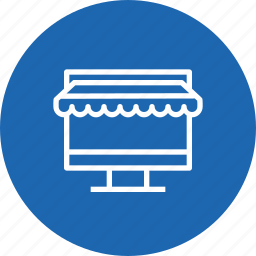 ecommerce, finance, laptop, online, shop, shopping, store icon
