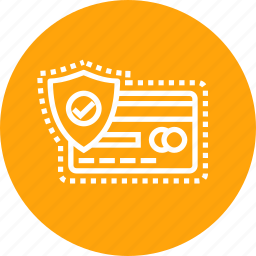 card, credit, debit, protect, safety, secure, transaction icon