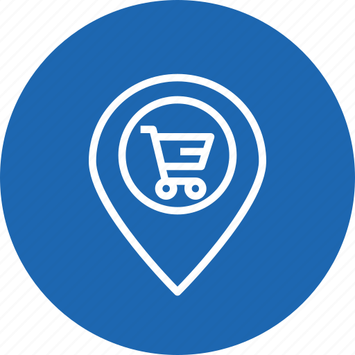 cart, ecommerce, locate, location, navigation, offer, sale icon