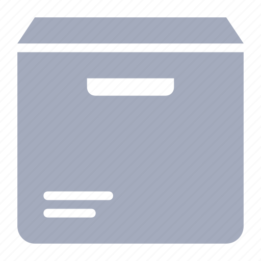 box, delivery, mail, parcel, shipment icon