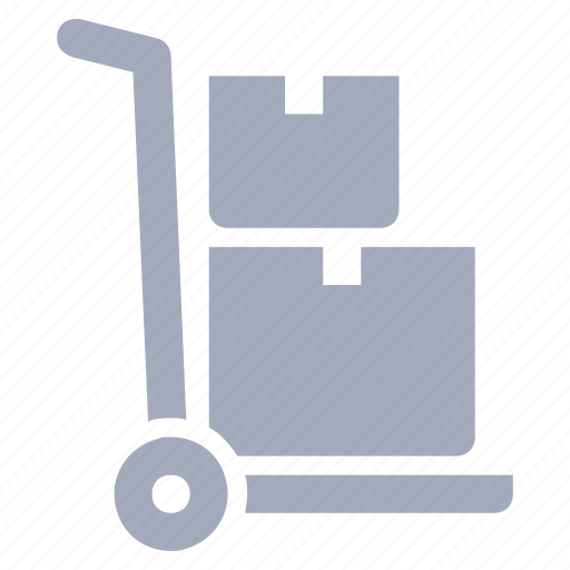 box, delivery, hand, parcel, truck icon
