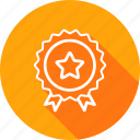 award, badge, bookmark, ecommerce, favourite, medal, star icon