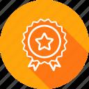 award, badge, bookmark, ecommerce, favourite, medal, star icon