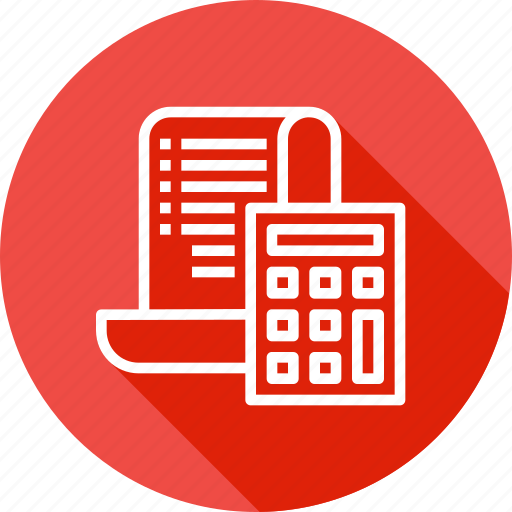 amount, bill, calc, calculation, ecommerce, finance, reciept icon