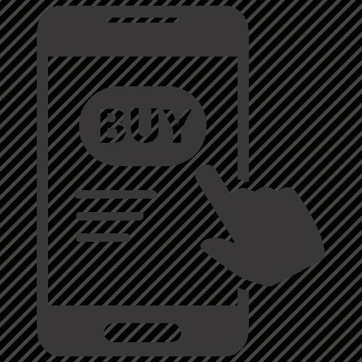 buy, click, online icon