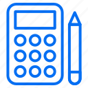 budget, calculator, ecommerce, finance, money, shopping icon