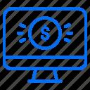 ecommerce, finance, money, online, price, shopping icon