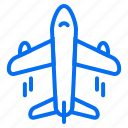 airplane, delivery, ecommerce, fast, transportation icon