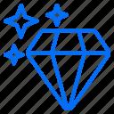 diamond, ecommerce, price, reputation, shopping, value icon