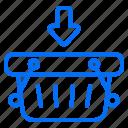 ecommerce, commerce, shopping, basket, shop, arrow, now