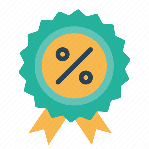award, ecommerce, finance, medal, percentage, profit, ratio icon
