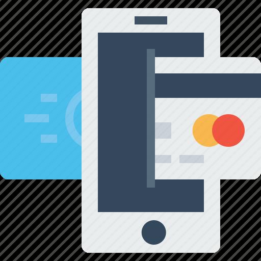 card, credit, debit, mobile, online, payment, transaction icon