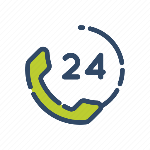 customer service, help, hours service, information, technology icon