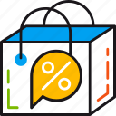 bag, best, buy, cheap, discount, sale, shopping icon