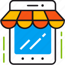 buy, commerce, internet, mobile, online, shop, shopping icon