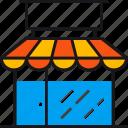commerce, ecommerce, market, shop, shopping, store icon