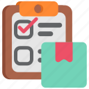 ecommerce, list, sale icon