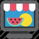 ecommerce, online, sale, shop, shopping, store, web icon