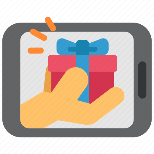 box, ecommerce, gift, online, present, sale, shoping icon