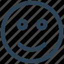 e-commerce, emoji, face, happy, smile