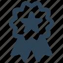 badge, bookmark, commerce, favorite, like, medal, star icon