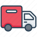 delivery, e-commerce, shipping, transport, truck icon