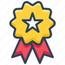 badge, bookmark, e-commerce, favorite, like, medal, star icon