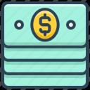 dollar, e-commerce, money, notes, payment