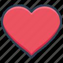 e-commerce, favorite, heart, like, love