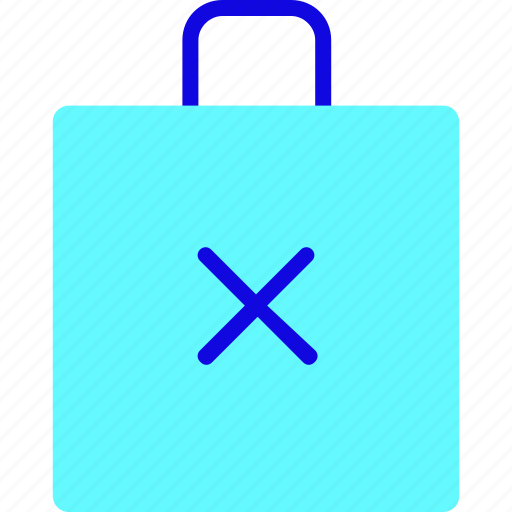 Bag, briefcase, buy, ecommerce, failed, shop, shopping icon - Download on Iconfinder