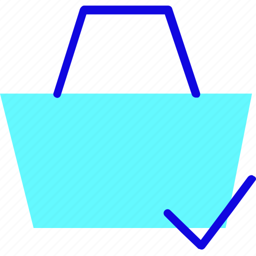 Bag, basket, briefcase, buy, ecommerce, shopping, success icon - Download on Iconfinder