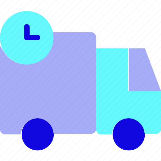 car, commerce, delivery, transport, transportation, truck, wait icon