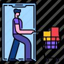 buy, cart, mobile, online, shopping, web
