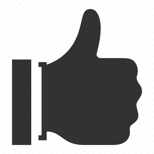approved, favorite, gesture, hand, like, thumbs up icon