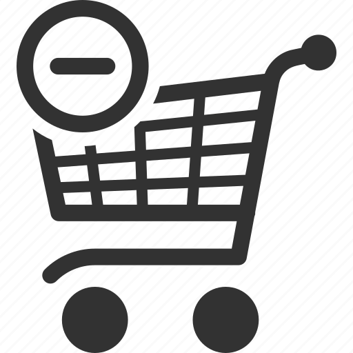 buy, delete, ecommerce, empty, purchase, remove, shopping cart icon