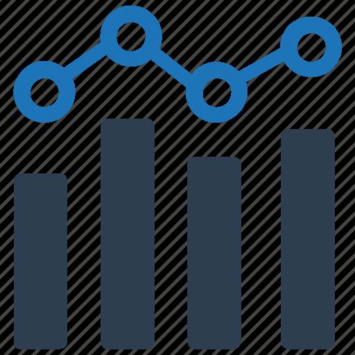 analysis, bar chart, chart, graph, stock icon