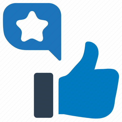 feedback, like, rating, star, thumbs up icon