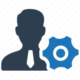 business, gear, management, productivity, support icon