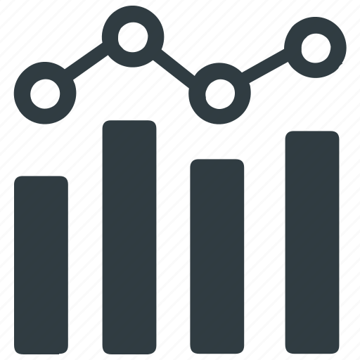 annual report, bar graph, financial, financial report, graph, statistics icon