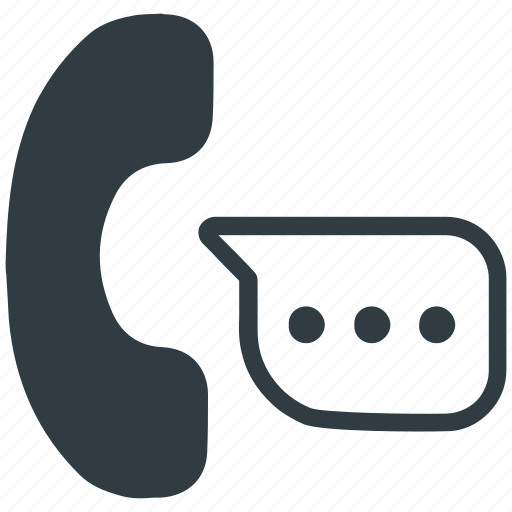 chat, communicate, conversation, discuss, phone conversation, say, telephone icon