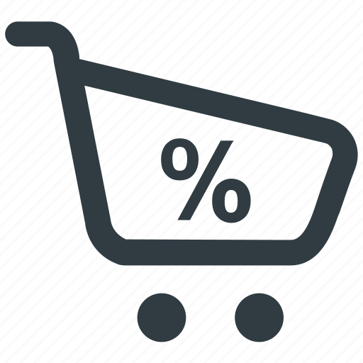 discount, ecommerce, sale, shopping, shopping discount icon