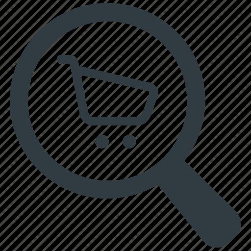 buy, e comerce, online shop, search, shop, shop search, shopping icon