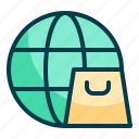 global, shopping, worldwide shopping, shop, online, internet, ecommerce