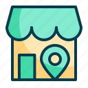 local, shop, local shop, store, market, shopping, online icon