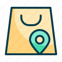 local, shopping, local shopping, shopping location, mall location, navigation, gps icon