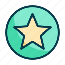 star, favorite, rating, award, like, winner, prize